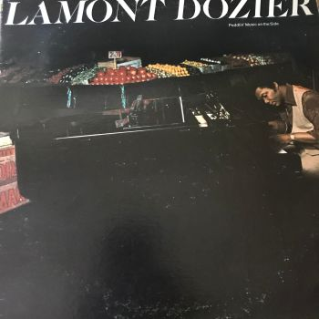 Lamont Dozier-Peddlin' music on the side-WB LP E+