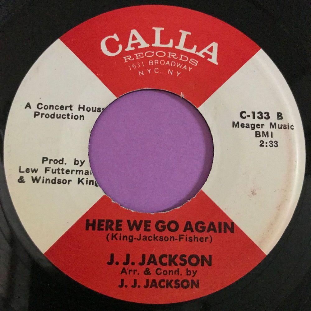 J. J Jackson-Here we go again-Calla E+