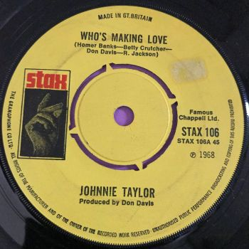Johnnie Taylor-Who's making love-UK Stax E+