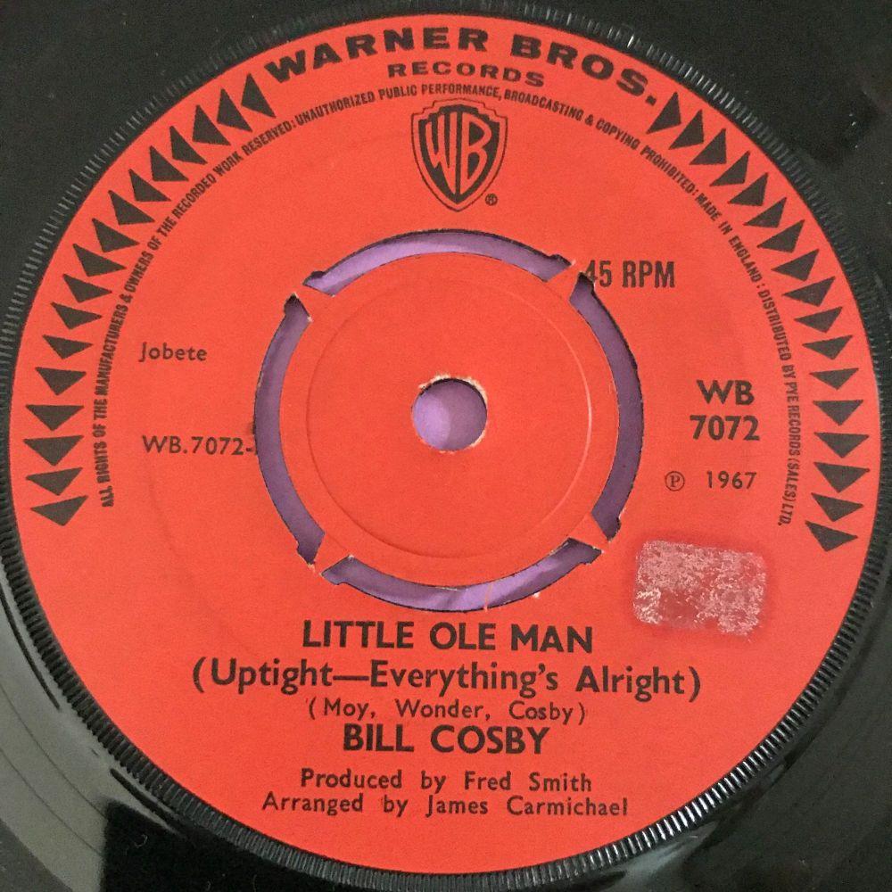 Bill Cosby-Little ole man-UK WB stkr E+