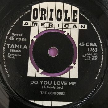 Contours-Do you love me-UK Oriole E+