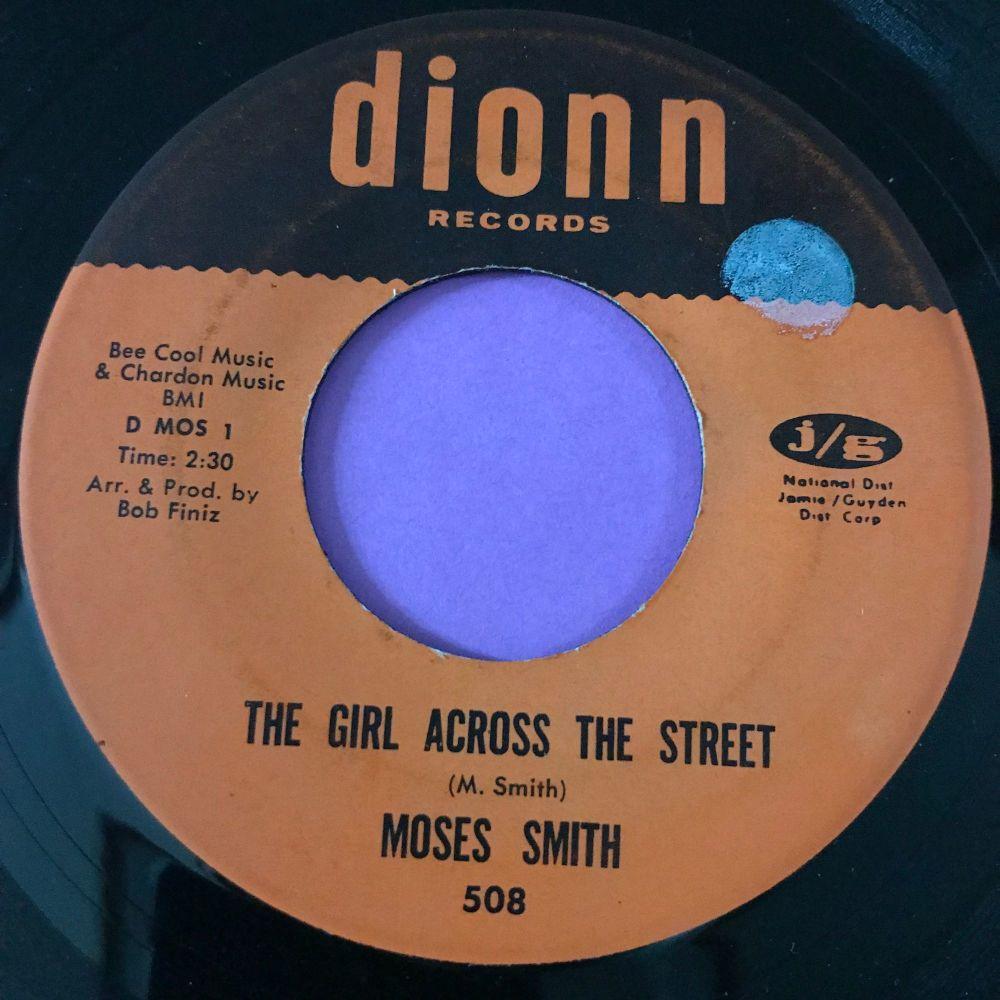 Moses Smith-The girl across the street-Dionn stkr E+