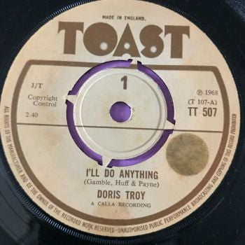 Doris Troy-I'll do anything-UK Toast stkr E+