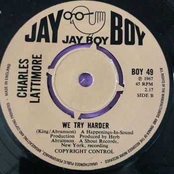 Charles Lattimore-We try harder-UK Jayboy E+