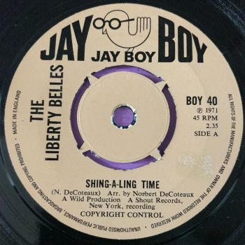 Liberty Belles-Shing-a-ling time-UK Jayboy E+