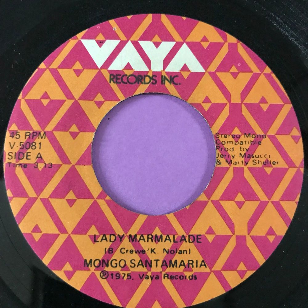 Mongo Santamaria - Lady Marmalade -Vaya E