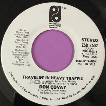 Don Covay-Travelling in heavy traffic - PIR WD E+