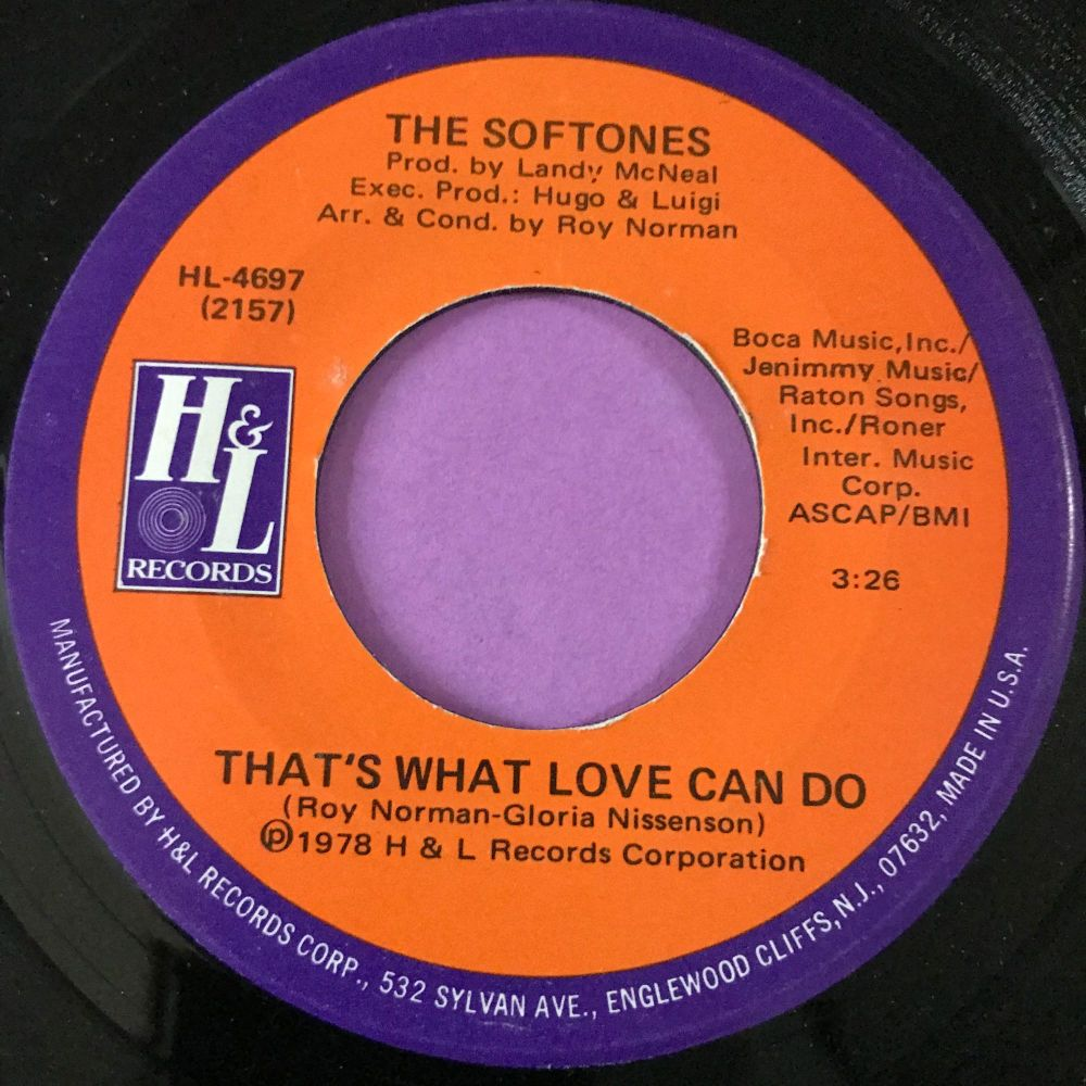 Softones-That's what love can do-H&L E+
