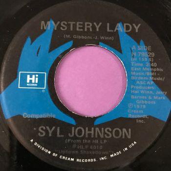 Syl Johnson-Mystery lady-Hi E+