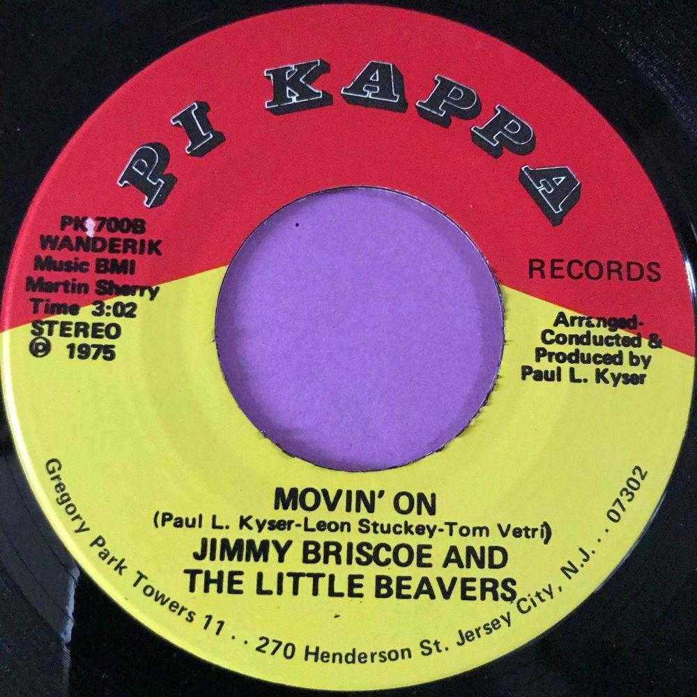 Jimmy Briscoe-Movin' on-Pi Kappa E+