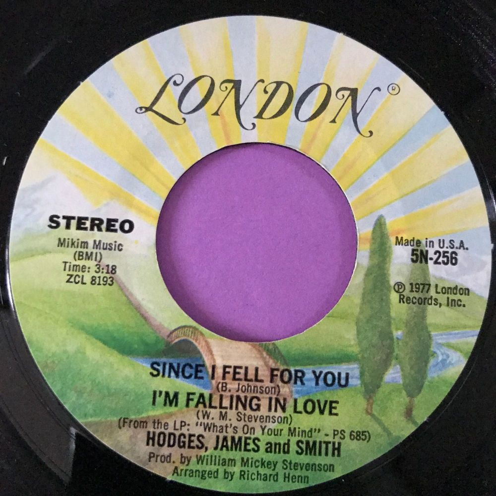 Hodges,James and Smith-Since I fell for you-London E+