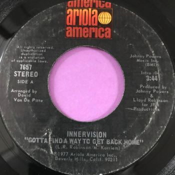 Innervision-Gotta find a way to get back home-Ariola E+
