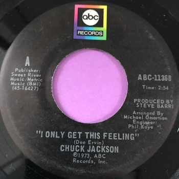 Chuck Jackson-I only get this feeling-ABC E+