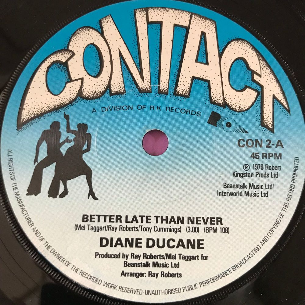 Diane Duncan-Better late then never-UK Contact E+