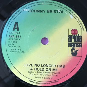 Johnny Bristol-Love no longer has a hold on me-Ariola UK E+