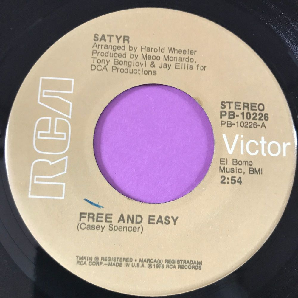 Satyr-Free and easy-RCA E+
