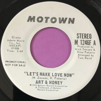 Art & Honey-Let's make love now-Motown WD E+
