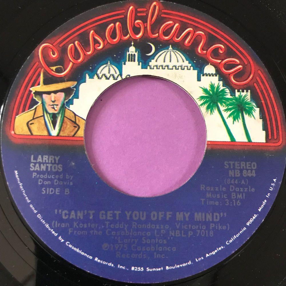 Larry Santos-Can't get you off my mind-Casablanca E+
