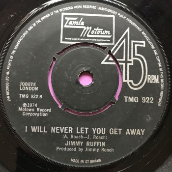 Jimmy Ruffin-I will never let you get away-TMG 922 E+