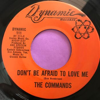 Commands-Don't be afraid to love me-Dynamic E+