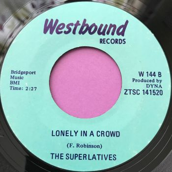 Superlatives-Lonely in a crowd-Westbound E+