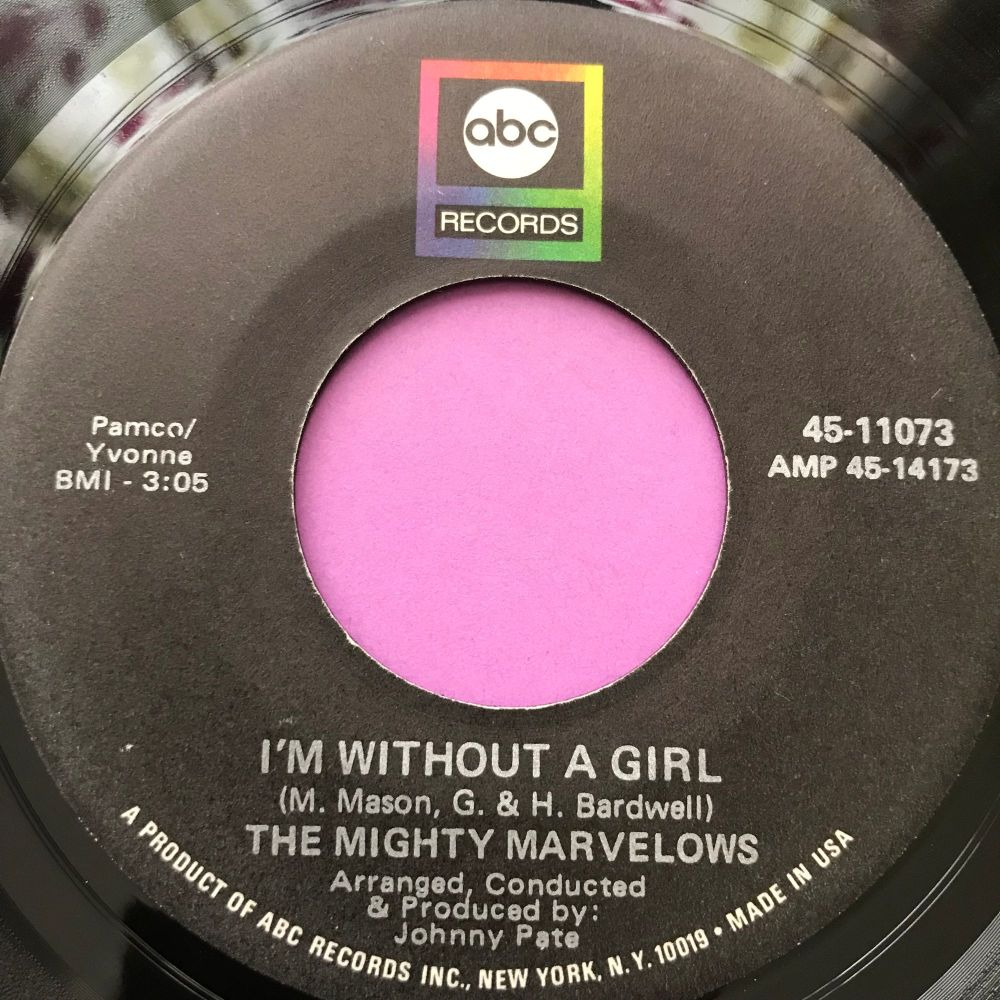 Mighty Marvellos-I'm without a girl-ABC E+
