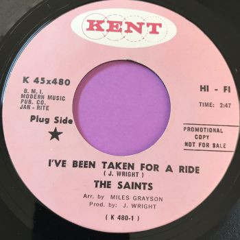 Saints-I've been taken for a ride-Kent E+