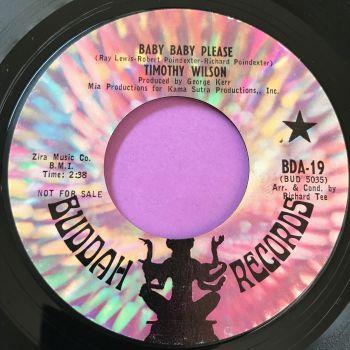 Timothy Wilson-Baby baby please-Buddah E