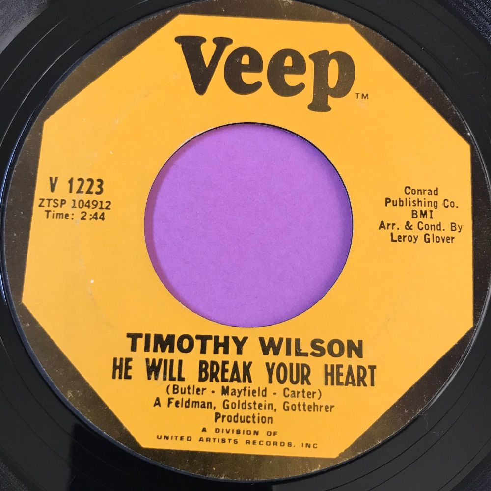 Timothy Wilson-He will break your heart-Veep E+