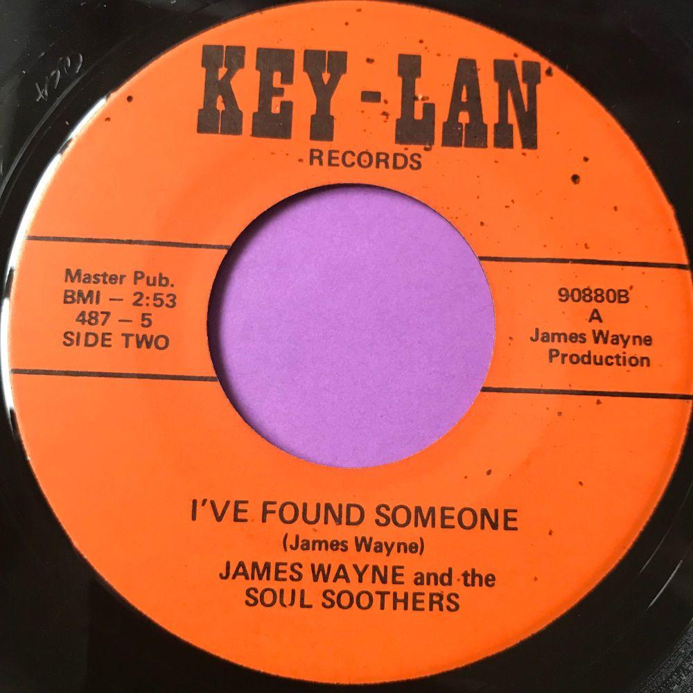 James Wayne-I've found someone/ My last letter-Key-Lan E+