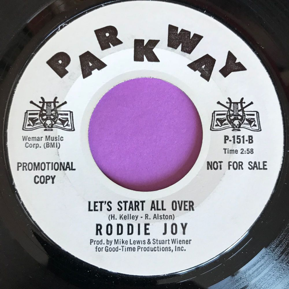 Roddie Joy-Let`s start all over-Parkway WD M-