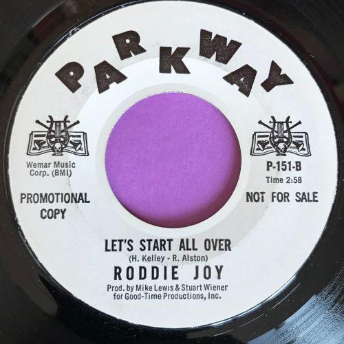 Roddie Joy-Let`s start all over-Parkway WD M-