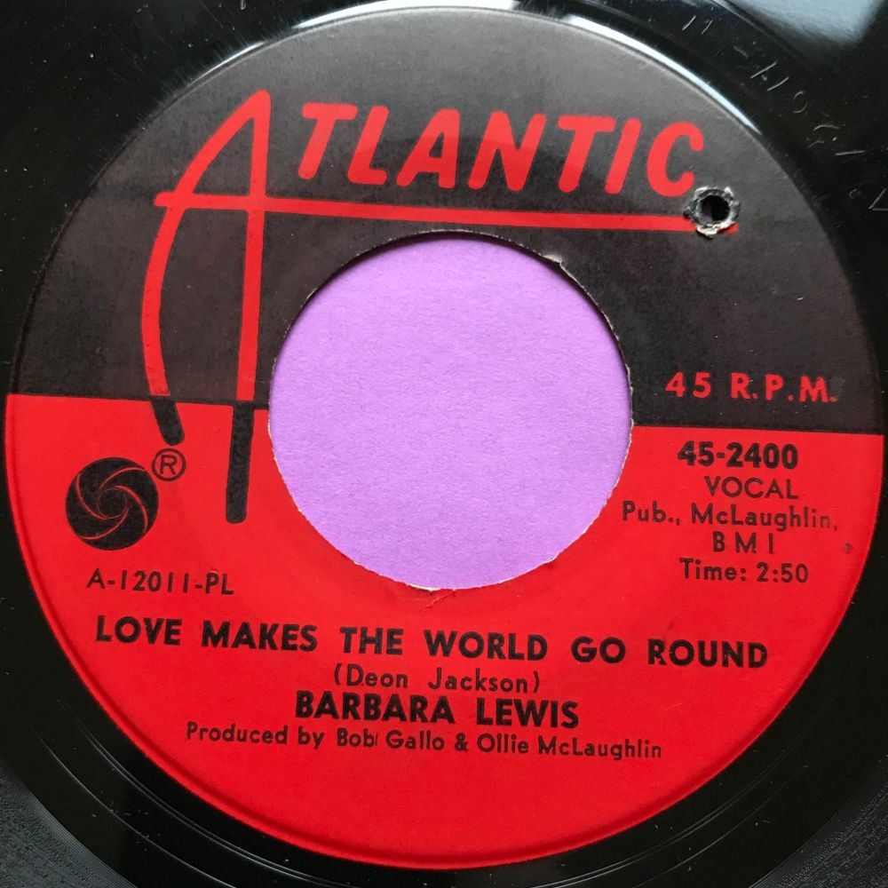 Barbara Lewis-Love makes the world go round-Atlantic E