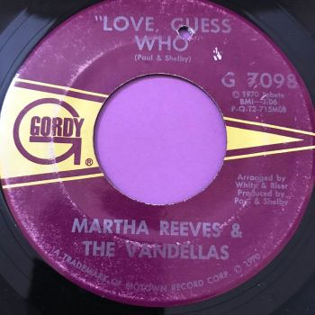 Martha Reeves-Love guess who-Gordy E+