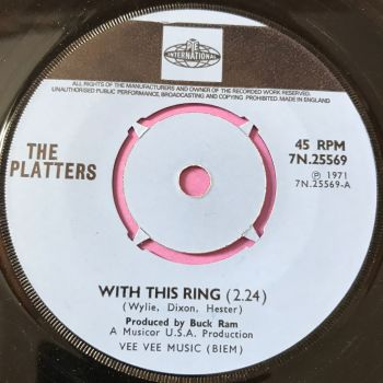 Platters-Washed ashore/ With this ring-UK Pye E+