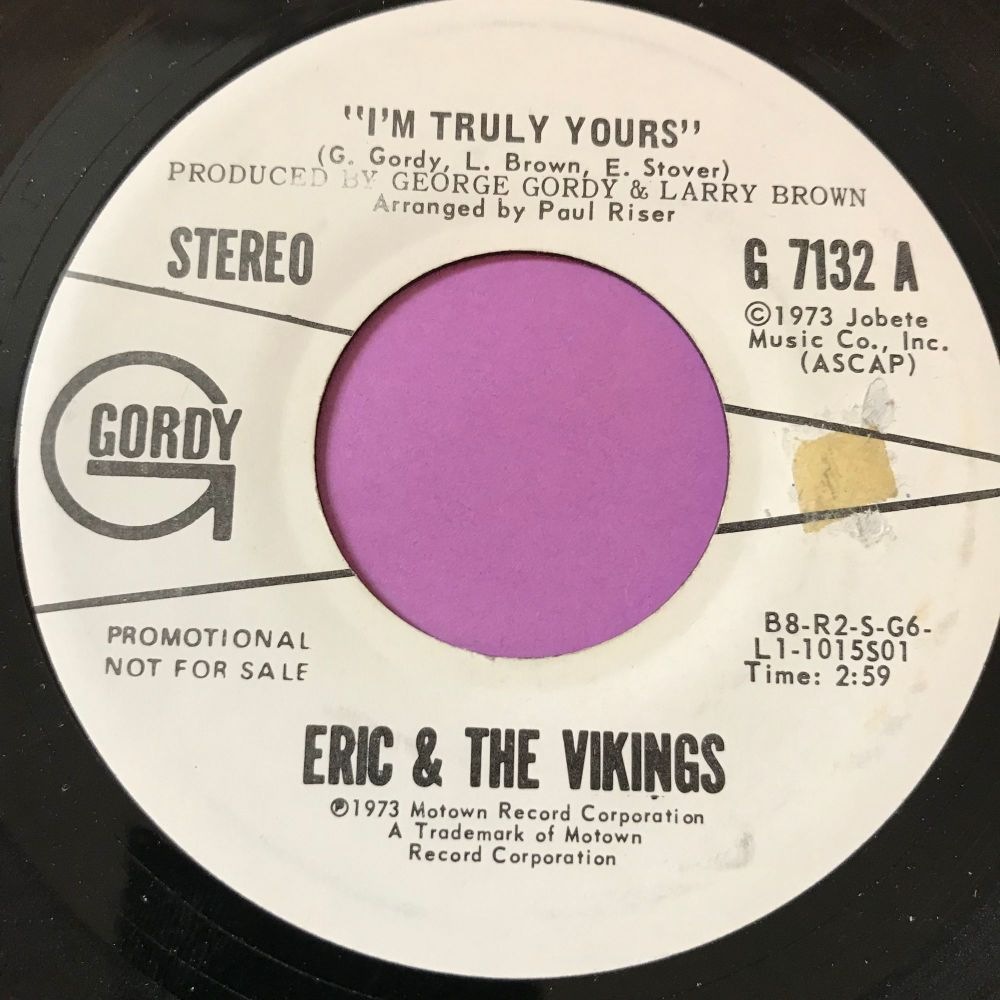 Eric & The Vikings-I'm truly yours-Gordy WD E+