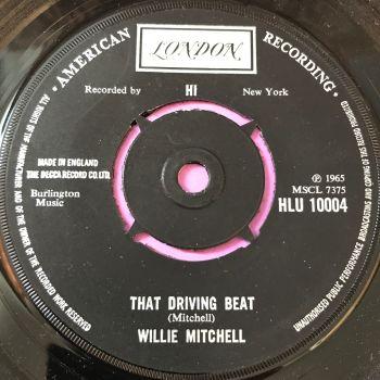 Willie Mitchell-That driving beat-UK London E+