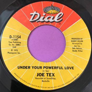 Joe Tex-Under your powerful love-Dial E+