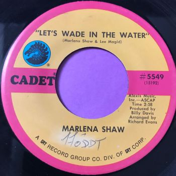 Marlena Shaw-Let's wade in the water-Cadet wol E