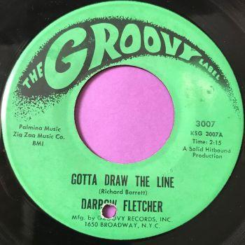 Darrow Fletcher-Gotta draw the line-Groovy E+
