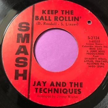 Jay and the Techniques-Keep the ball rollin'/Here we go again-Smash E+