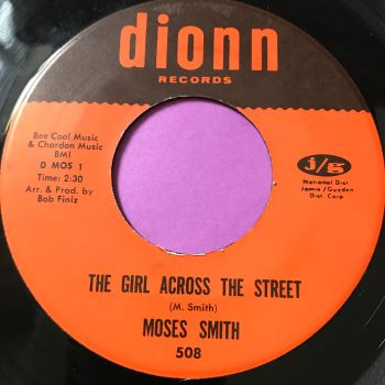 Moses Smith-The girl across the street-Dionn E