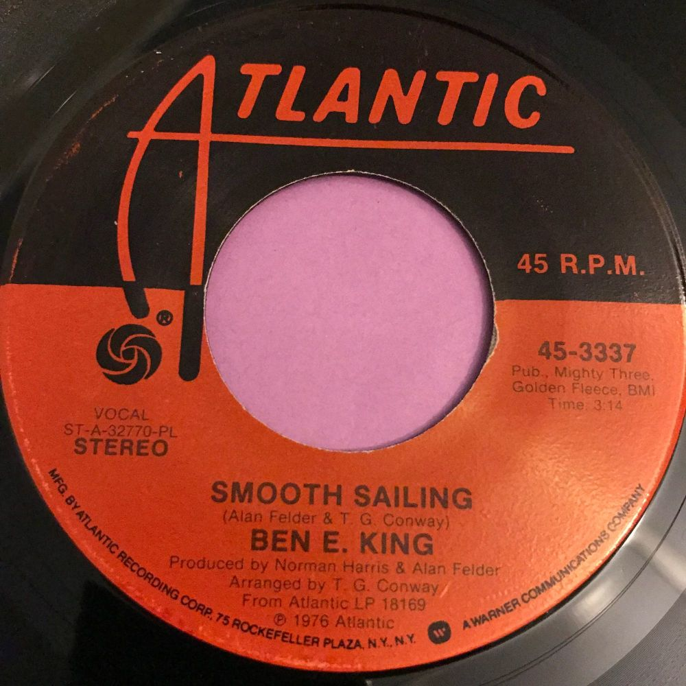 Ben E King-Smooth sailing-Atlantic E+
