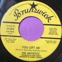 Artistics-You left me-Brunswick Demo E+