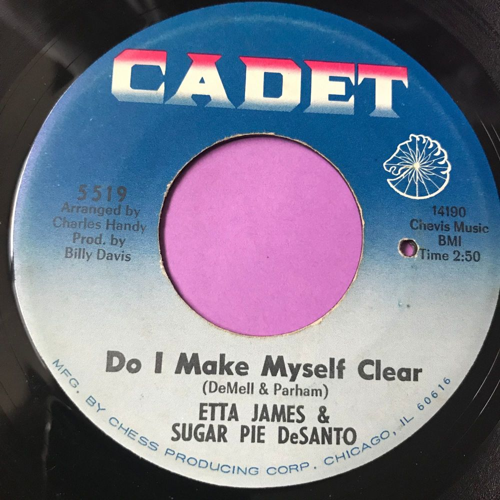 Etta James & Sugar Pie Desanto-Do I make myself clear-Cadet E+