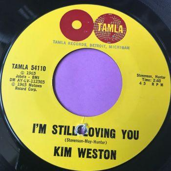 Kim Weston-I'm still loving you-Tamla E+