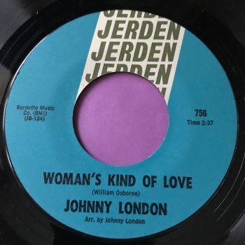 Johnny London-Woman's kind of love-Jerden M-