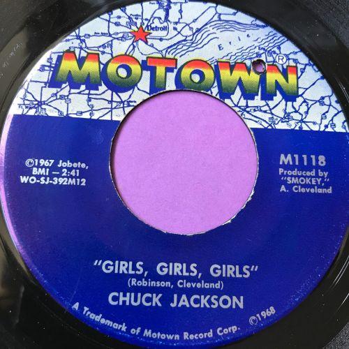 Chuck Jackson-Girls, girls, girls-Motown E