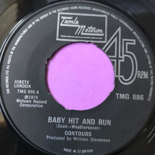 Contours-baby hit and run-TMG 886 noc E+