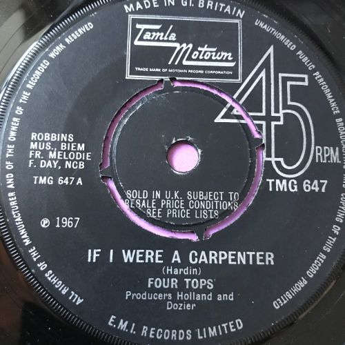 Four Tops-If I was a carpenter-TMG 647 E+
